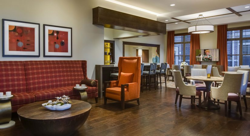 Senior Living Furniture Lobby