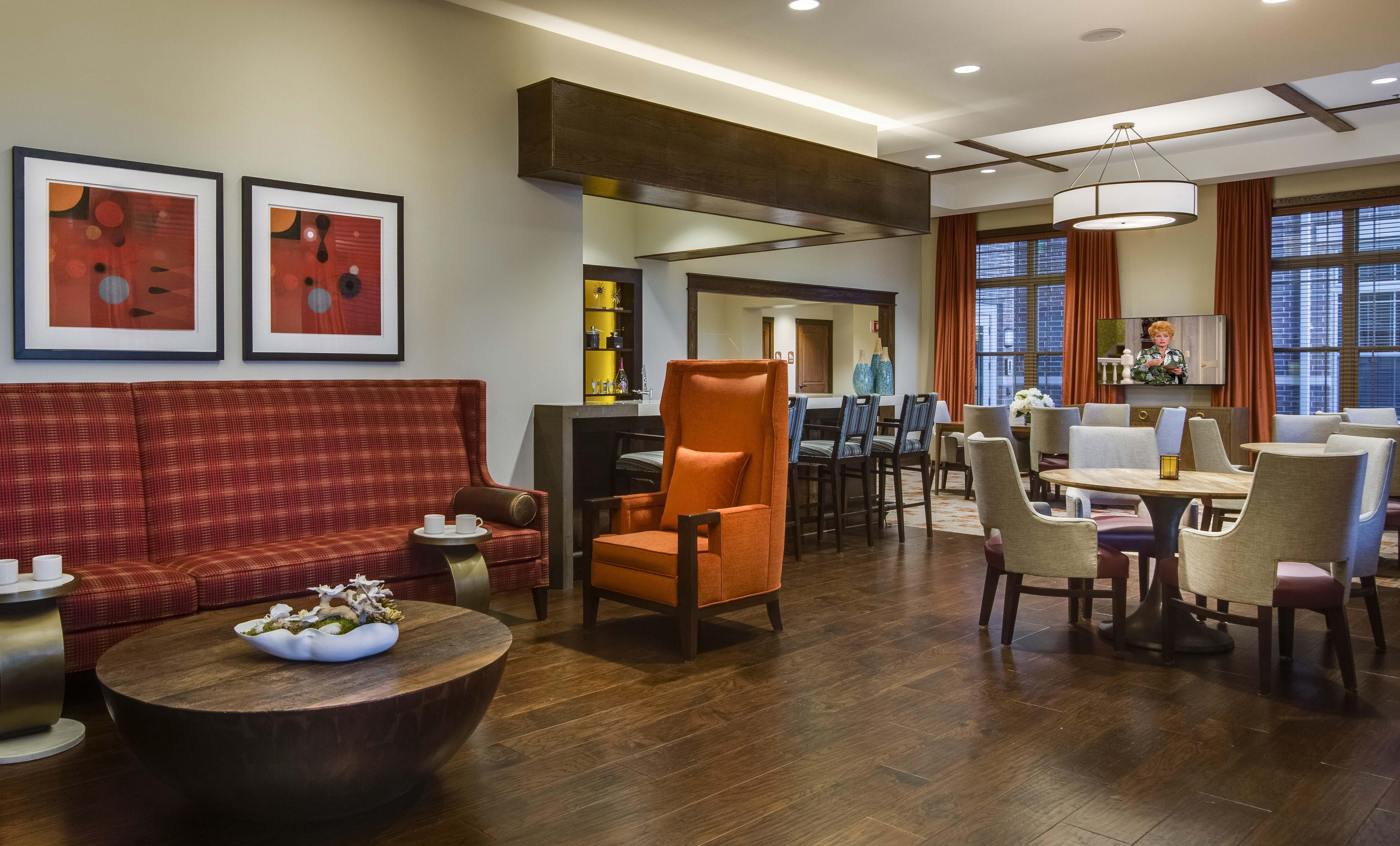 Senior Living Furniture Lobby