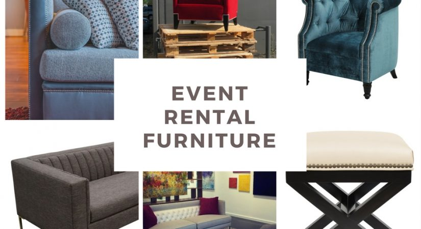 5 MUST-HAVES when purchasing event rental furniture
