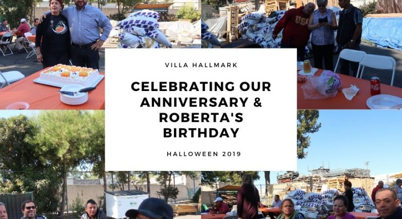 Villa Hallmark Celebrates its' 29th Anniversary & Roberta's Birthday