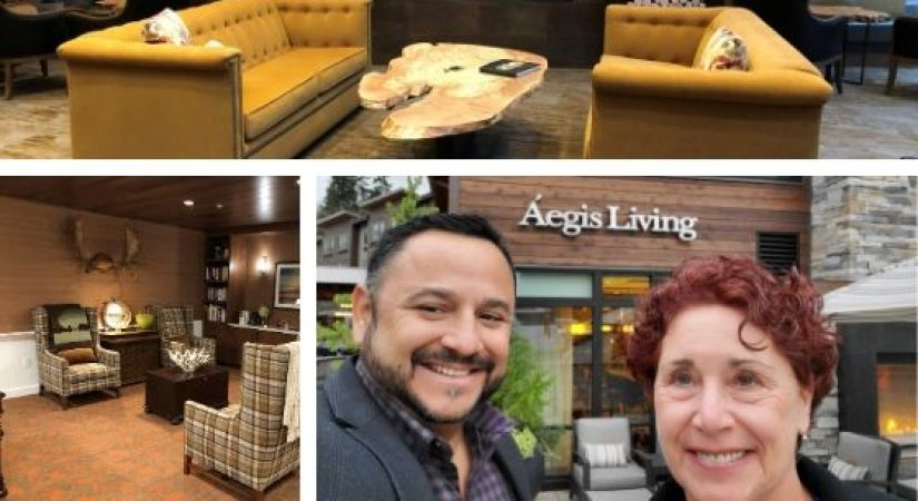 Roberta and Juan Visit Aegis Living in Bellevue